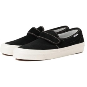 <MEN>VANS / Strap SlipOn 47 VD USA メンズ スニーカー OG BLACK/SUEDE 9