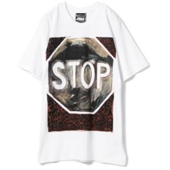 P.A.M / JOSH SMITH Tee メンズ Tシャツ WHITE M