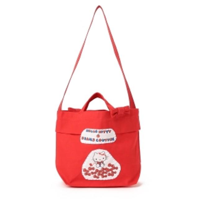 BEAMS COUTURE × HELLO KITTY / お針子キティちゃんサコッシュ レディース トートバッグ RED ONE SIZE
