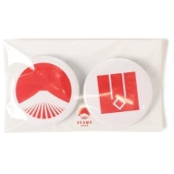 【WEB限定】BEAMS JAPAN / 都道府県の缶バッジ セット メンズ バッジ 山口県 ONE SIZE