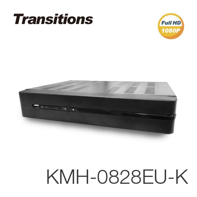全視線 KMH-0828EU-K 8路 H.265 1080P HDMI 台灣製造 數位監視監控錄影主機【凱騰】