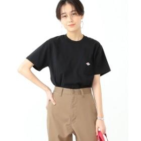 【WEB限定】DANTON / ポケット Tシャツ レディース Tシャツ 9/BLACK 36