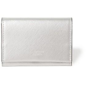 B JIRUSHI YOSHIDA N.HOOLYWOOD × PORTER / COMPILE CARD CASE メンズ 名刺入れ・カードケース SILVER ONE SIZE