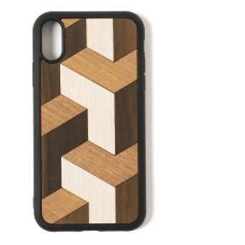 Wood'd / ウッド iPhoneXR ケース メンズ モバイルケース・カバー TUMBLE ONE SIZE