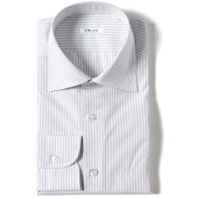 FRAY / ロンドンストライプ セミワイドカラーシャツ メンズ ドレスシャツ LT. GREY/2 37