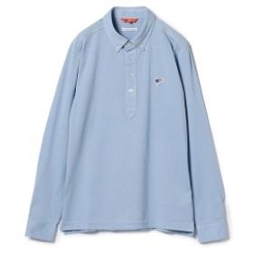 BEAMS GOLF ORANGE LABEL / クールマックス B.D. ポロシャツ メンズ ポロシャツ SAX XL