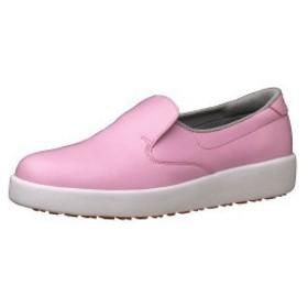 ミドリ安全 ハイグリップシューズ 耐滑軽量作業靴ハイグリップ H-700N ピンク 滑らない靴が必要な職場に