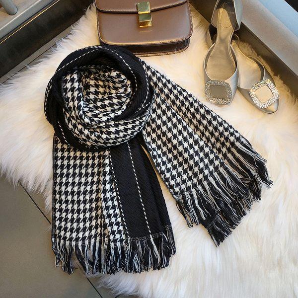 新款時尚棉質柔軟絲巾圍巾 文藝空調披肩 披肩圍巾85