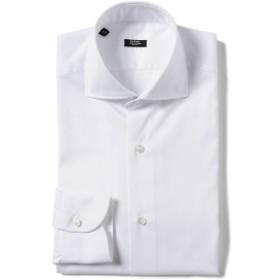 BARBA / 401 ピンオックス ワイドカラーシャツ メンズ ドレスシャツ WHITE/01 38