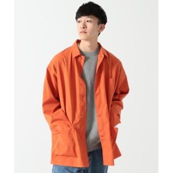 BEAMS / フレンチ カバーオール シャツ メンズ カジュアルシャツ ORANGE M