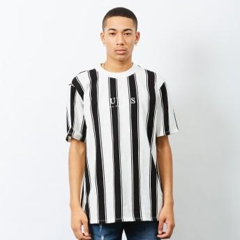 Tシャツ - GUESS【MEN】 [GUESS Originals] WALDEN STRIPED CREW TEE