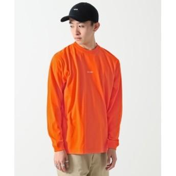 BEAMS / ミニロゴ クルーネックTシャツ メンズ Tシャツ ORGWHT S