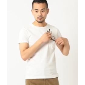 REMI RELIEF × BEAMS PLUS / 別注 ポケットTシャツ メンズ Tシャツ WHITE L