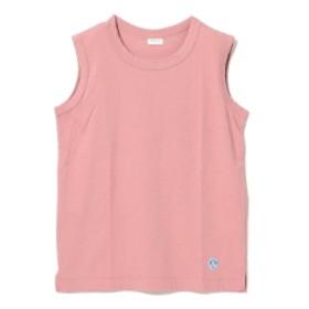 【WEB限定】ORCIVAL / ノースリーブ Tシャツ レディース Tシャツ PINK 1