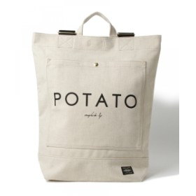 PORTER × B印 ヨシダ / POTATO TOTE RUCK メンズ トートバッグ BEIGE ONE SIZE