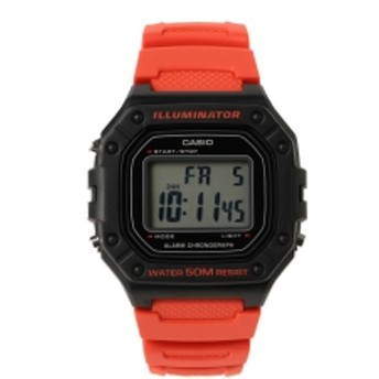 CASIO / W218H4BV メンズ 腕時計 RED ONE SIZE