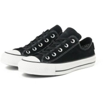CONVERSE / ALL STAR 100 GORE-TEX SUEDE OX レディース スニーカー BLACK 4H