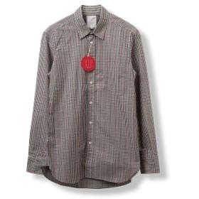B:MING by BEAMS / BBB レギュラーカラー シャツ メンズ カジュアルシャツ M/GINGUM A L