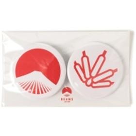 【WEB限定】BEAMS JAPAN / 都道府県の缶バッジ セット メンズ バッジ 秋田県 ONE SIZE