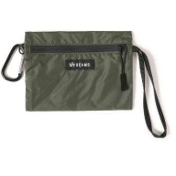 bPr BEAMS BEAMS / ロゴ ポーチ S メンズ ポーチ OLIVE/OD ONE SIZE