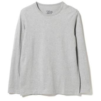 Brilla per il gusto Brilla per il gusto / クルーネック ロングスリーブTシャツ メンズ Tシャツ GRAY XS