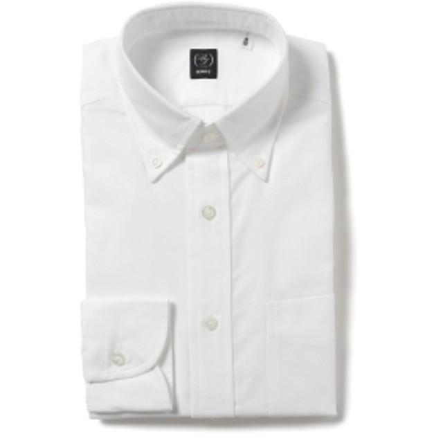 BEAMS F / オックスフォードボタンダウンシャツ メンズ ドレスシャツ WHITE 37