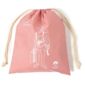 別府 BEAMS JAPAN / 湯美ちゃん 巾着 バッグ M レディース その他バッグ ミスティピンク ONE SIZE