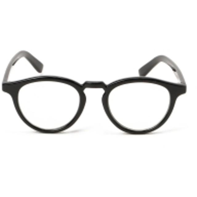 BEAMS BOY / ボストン クリア レンズ メガネ レディース メガネ BLACK ONE SIZE