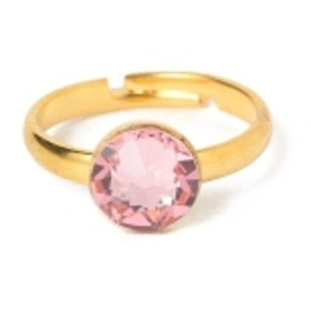 INspiRaTiOns by la girafe / Ring キッズ リング PINK ONE SIZE