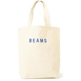 BEAMS / BEAMS ロゴ トート メンズ トートバッグ BLUE ONE SIZE