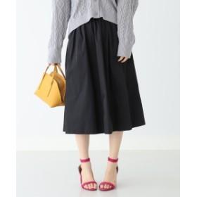 B:MING by BEAMS / リバーシブル タフタスカート 19SS レディース 膝丈スカート BLACK S