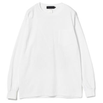 BEAMS T / MEL KADEL Long Sleeve Tee メンズ Tシャツ WHITE M