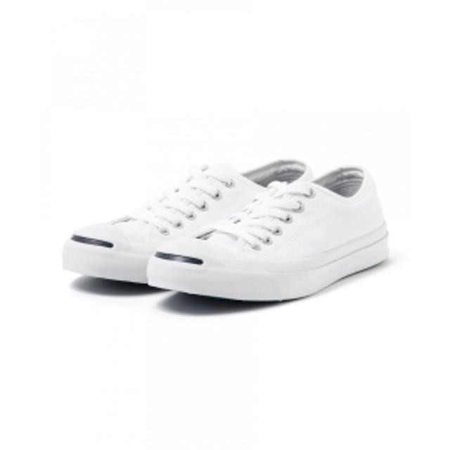 CONVERSE / ジャックパーセル レディース スニーカー WHITE 24.5