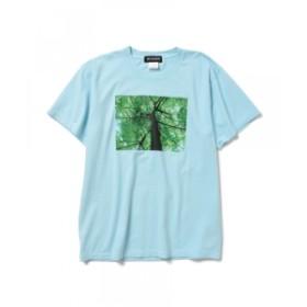Qusamura Art-T-shirts Project / Ryuichi Sakamoto メンズ Tシャツ SAX S