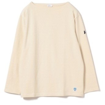 <MEN> ORCIVAL × Pilgrim Surf+Supply / 別注 Cotton Cut and Sewn メンズ カットソー ECRU 4