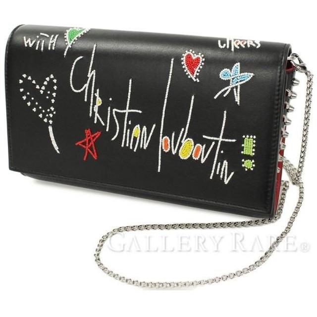 クリスチャン ルブタン クラッチバッグ パロマ クラッチ PALOMA CLUTCH 1185016 バッグ チェーンウォレット 財布