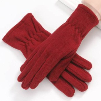 手袋 レディース 暖かい 防寒 五本指 おしゃれ プチギフト カジュアル 大人可愛い プレゼント 女性 キュート 通学 通勤