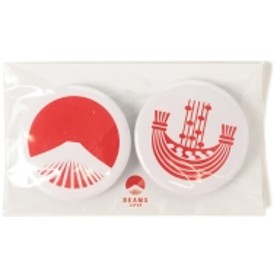 【WEB限定】BEAMS JAPAN / 都道府県の缶バッジ セット メンズ バッジ 茨城県 ONE SIZE