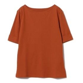 【4/19再値下げ】Demi-Luxe BEAMS / フライスボートネック プルオーバー レディース Tシャツ ORANGE ONE SIZE