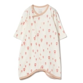 B:MING by BEAMS / 2WAY+ボンネット キッズ ロンパース PINK 50-70