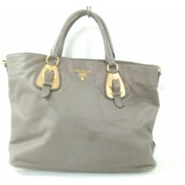 first rate 7af7c 10be2 中古 PRADA プラダ トートバッグ レザー BN1902 通販 LINE ...