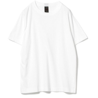 <MEN>homspun / 天竺 半袖 Tシャツ 18AW メンズ Tシャツ WHITE S