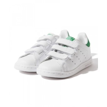 adidas / STAN SMITH CF I(14cm~16cm) キッズ スニーカー GREEN 16