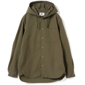 Pilgrim Surf+Supply / Boyce Cordura Twill Hooded Shirt メンズ カジュアルシャツ OLIVE/OD M