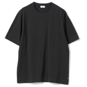 A. / クルーネック ポケットTシャツ メンズ Tシャツ BLACK S