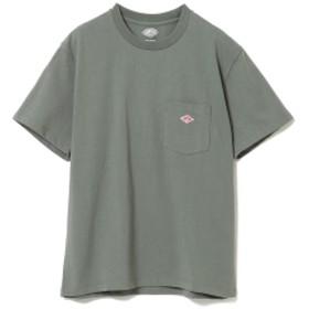 【WEB限定】DANTON / ポケット Tシャツ レディース Tシャツ DEEP GREEN 36