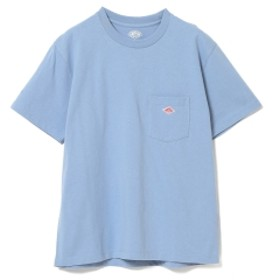 【WEB限定】DANTON / ポケット Tシャツ レディース Tシャツ 【WEB限定】FADE BLUE 36