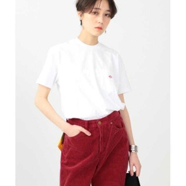 【WEB限定】DANTON / ポケット Tシャツ レディース Tシャツ WHITE 36