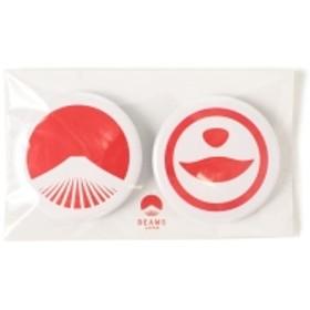 【WEB限定】BEAMS JAPAN / 都道府県の缶バッジ セット メンズ バッジ 熊本県 ONE SIZE