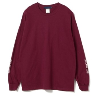 BEAMS T / Masashi Ozawa Long Sleeve Tee メンズ Tシャツ WINE M